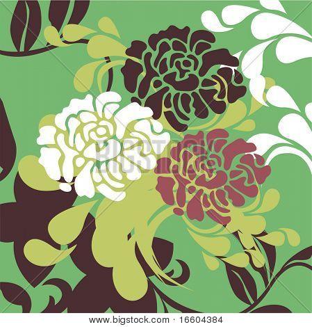 vintage flora design