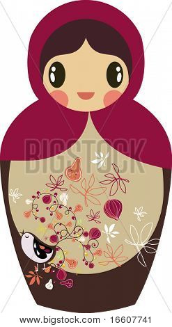 cute little Russian nested doll