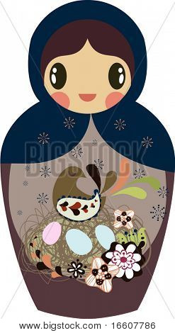 little Russian doll design