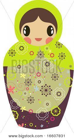 cute little Russian doll