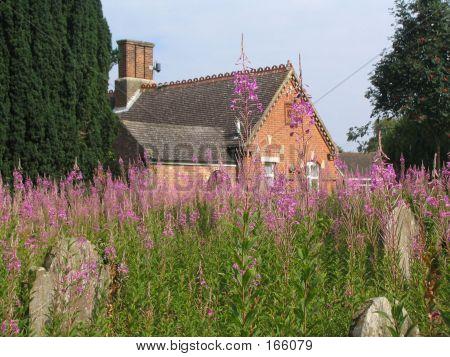 Englische Landschaft Friedhof