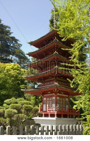 """der buddhistischen Pagode oder """"Schatz Tower"""""""