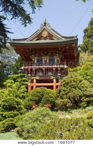 Temple-Tor, vorn