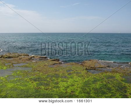 Blue Sky And Relaxation Sea
