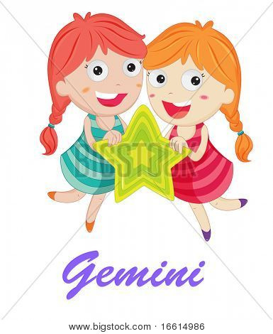 gemini star sign from series 1