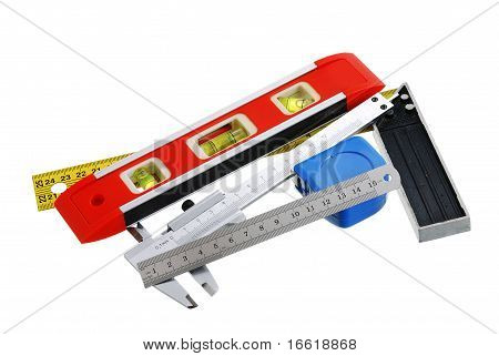 Set Of Measuring Tools