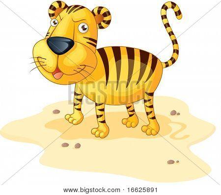 tiger (vector version in portfolio)