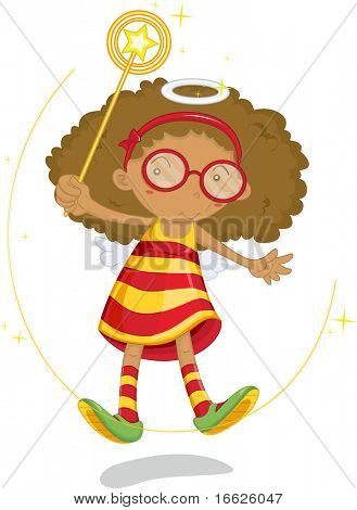 cute girl (vector image available in portfolio)