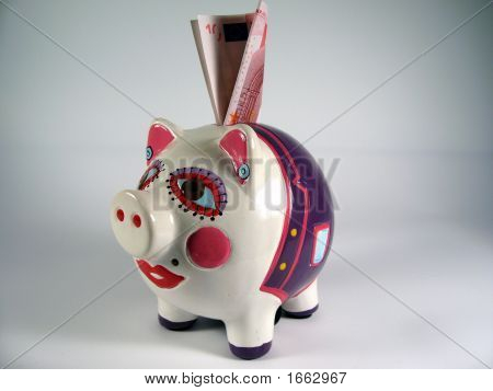 Piggy Pink Ceramic