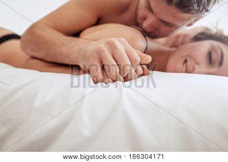 Sensual Man And Woman Having Sex