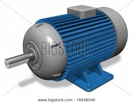 Motor de eléctrico industrial