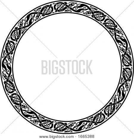 Vector_Circle_Celtic_Dog.Eps