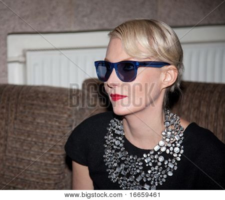 MOSCOW - JUNE,20: Actress Renata Litvinova. Press Conference of Film
