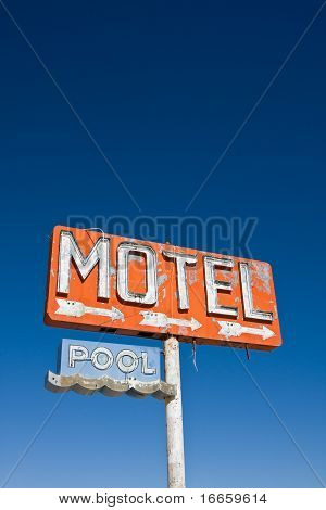 Vintage Motel Sign Stock Photo & Stock Images | Bigstock