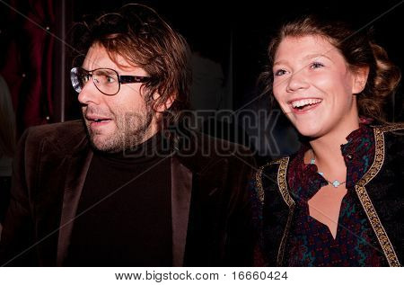 MOSCOW - SEPTEMBER, 23: Russian Anchorman Andrey Malakhov. 100 Sexiest Women Of The Country Under  the Version of Maxim magazine at the Soho club. September, 23, 2009 in Moscow, Russia.