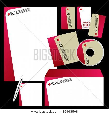 Vector Template Background