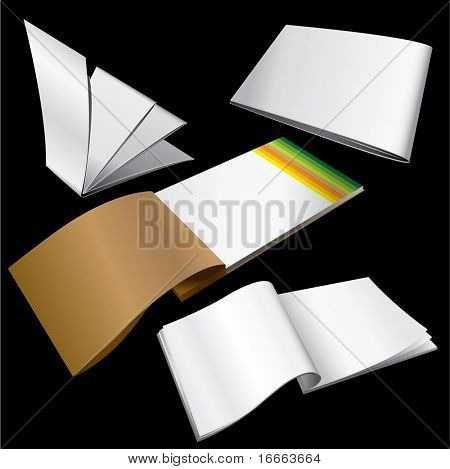 Vector brochure dummy