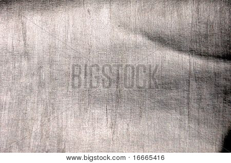 Brushed silver metallic background