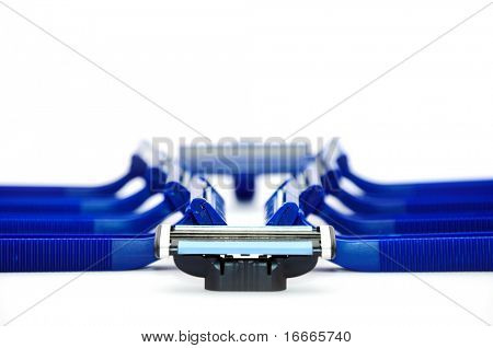 Razor isolated on a white background
