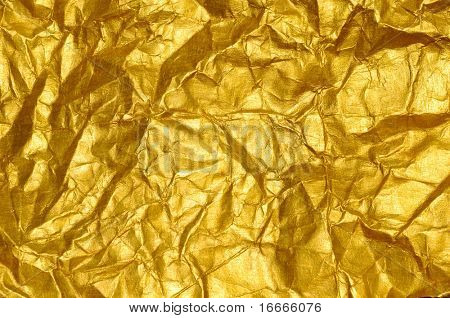 Beautiful fine brushed golden texture