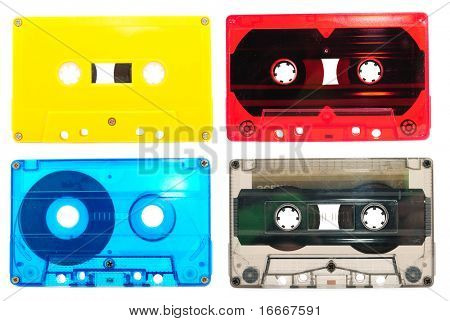 Collection of audio cassettes