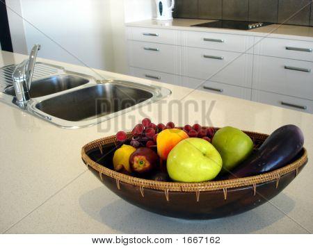 Cocina con Frutero