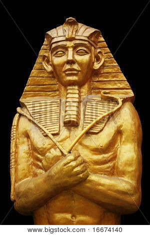 Ancient limestone statue of Pharaoh Ramses / Ramesses /Rameses II, king of Egypt. Found in Luxor