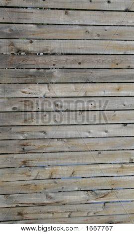 Wooden Horizontal Slats