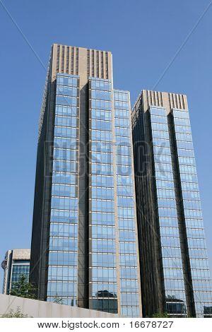 skyscraper in beijing china