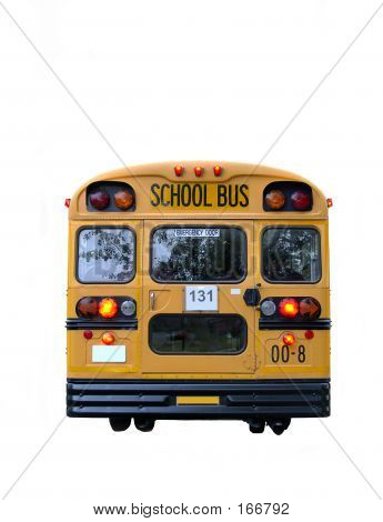School Bus Rear