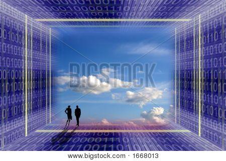 Digital Age Concept