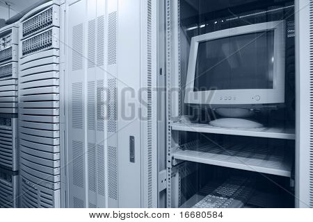computer in data center