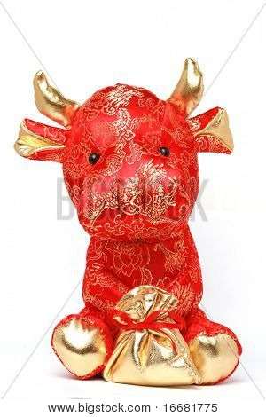 toy cow for 2009 chinese year