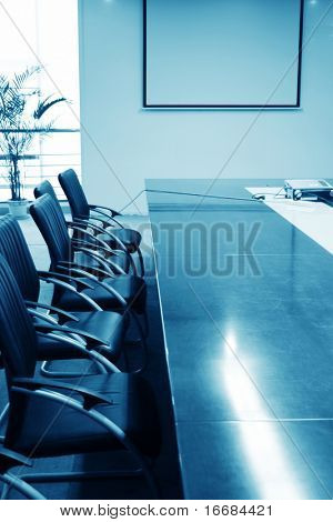 modern meeting room interior