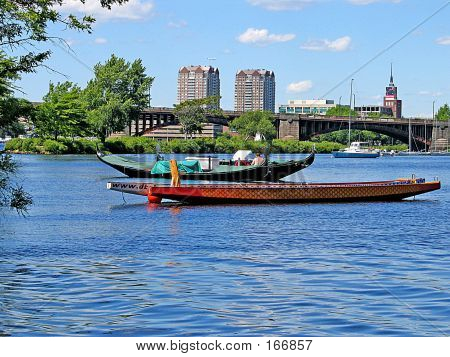 Boats On City River