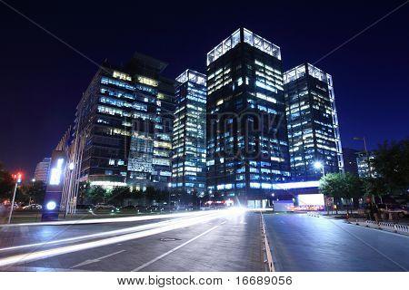 tráfego pelo centro da cidade de Pequim
