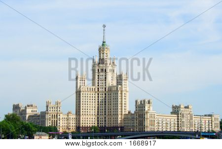 The House On Quay, Moscow, Russia