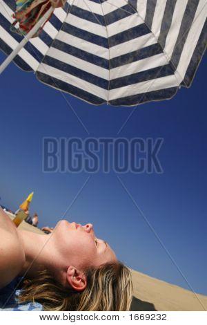 Woman Under Parasol