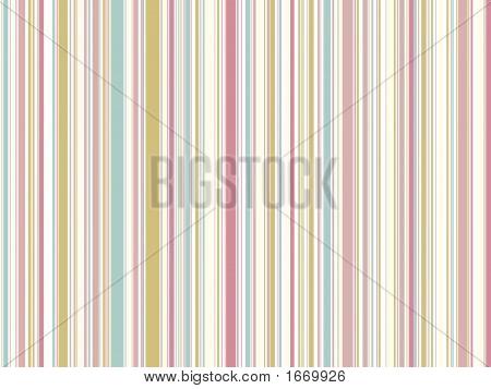 Soft  Pastel Pink Vintage Stripes