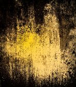 Постер, плакат: Black Grunge Texture Background Abstract Grunge Texture On Distress Wall In The Dark Dirty Grunge