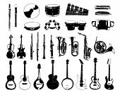 stock photo of musical instruments  - Musical Instrument - JPG