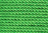 Green String Abstract Close Up Background. poster