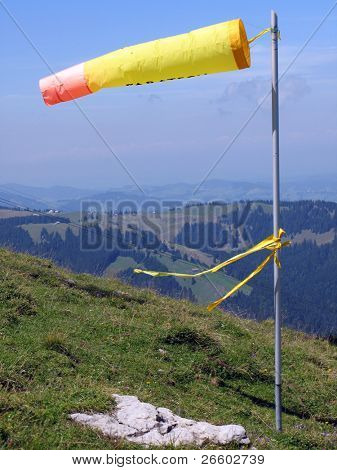 Alpine windsock