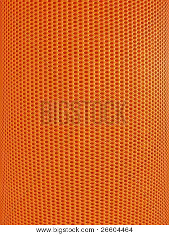 Red-hot metal mesh