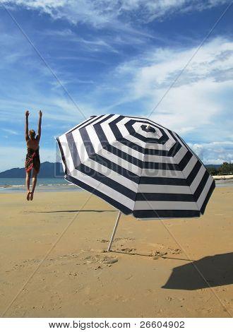 Beach scene. Langkawi, Malaysia
