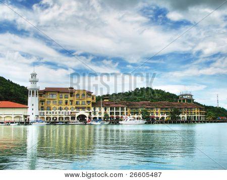 Port of Langkawi island, Malaysia