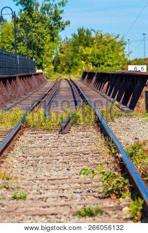 Railroad Tracks Atl Montmorency Falls