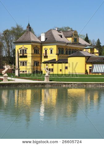 Hellbrun summer palace, Salzburg, Austria