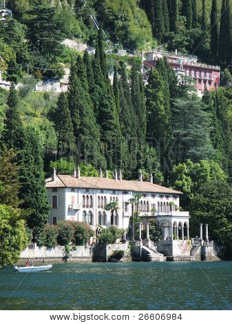 Villa Monastero at the lake Como. Italy