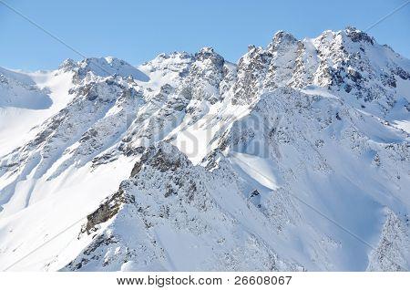 Swiss Alps in Pizol